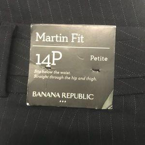 Banana Republic Pants - Banana Republic Factory Martin Fit Pinstripe Pants